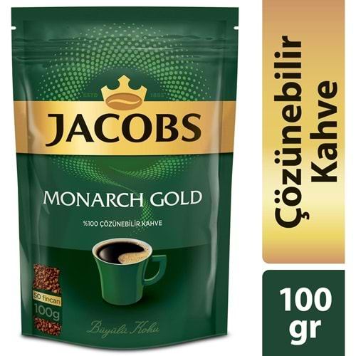 JDE JACOBS MONARCH GOLD 100 GR